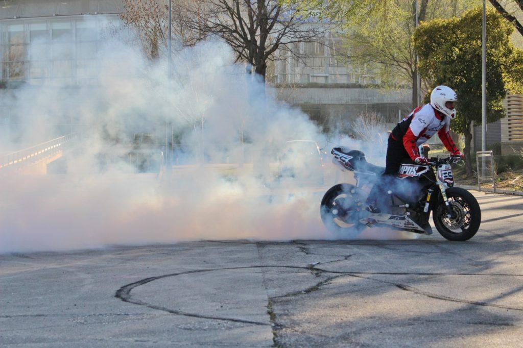 Stunt Salón de la Moto Madrid Motorama 2020