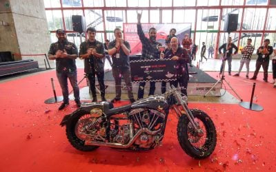 Old Custom Flames gana el Madrid Bike Show de Motorama 2020
