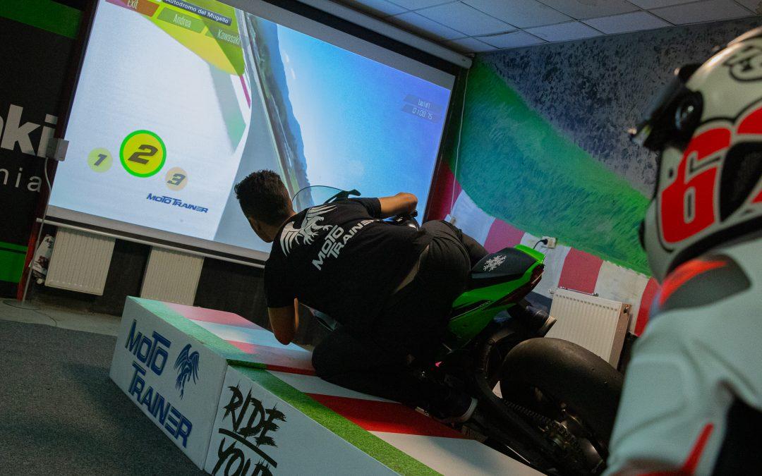 Simulador de pilotaje Moto GP